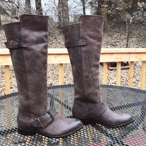Dolce Vita Rustic  Brown 6M Pull on Riding Boots